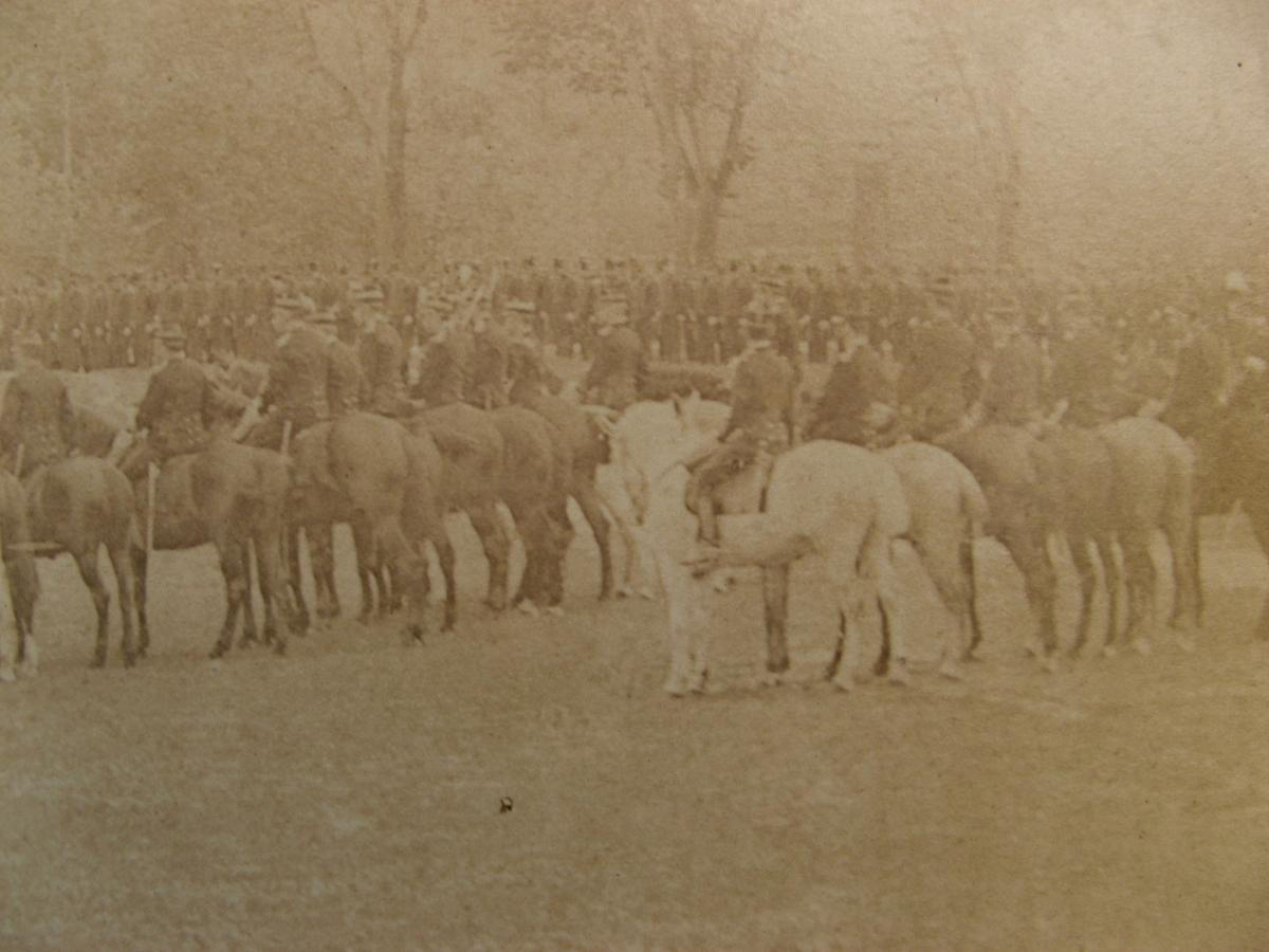"""Very Great Photograph 1850 : """"military Ceremony"""" -photo-2"""
