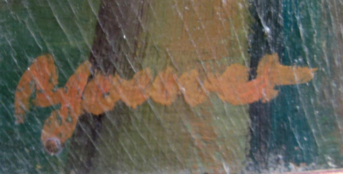 """ROBERT JOUVET : """"PAYSAGE FAUVE D'AUTOMNE""""-photo-3"""
