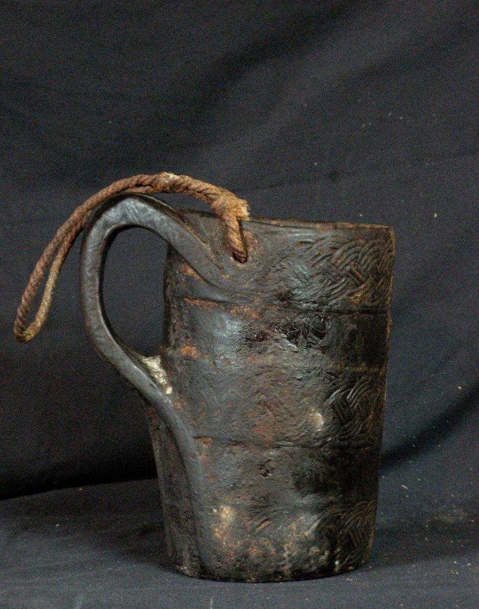 Antique Nepal Milk Cruche