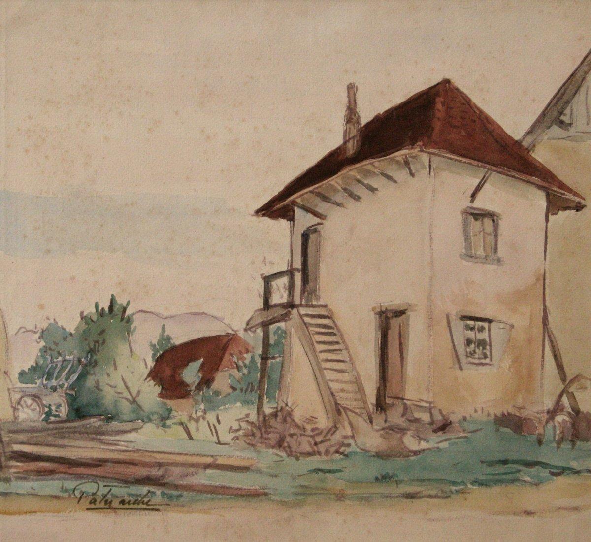 "Gustave Patriarche : ""farm In Saint-jean d'Avelanne"""