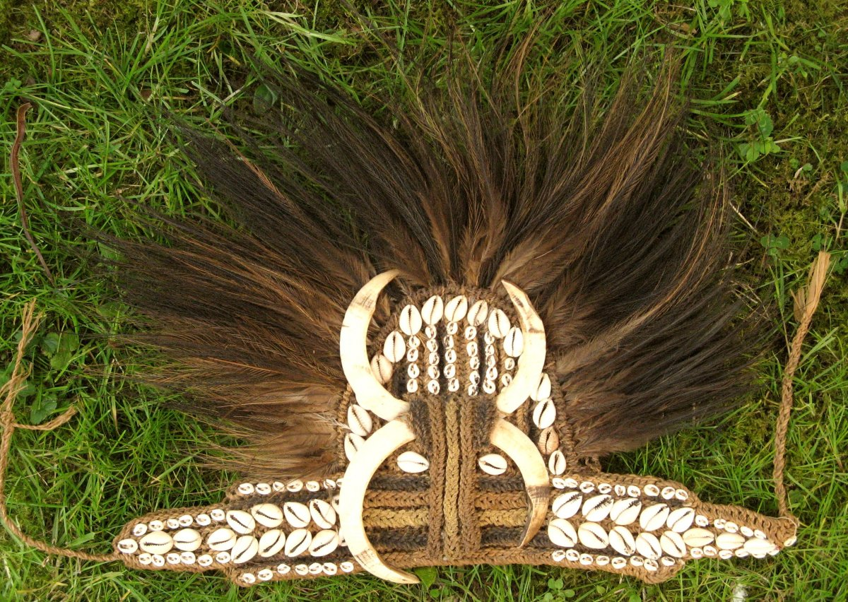 Important Papuanian / New Guinea Headdress