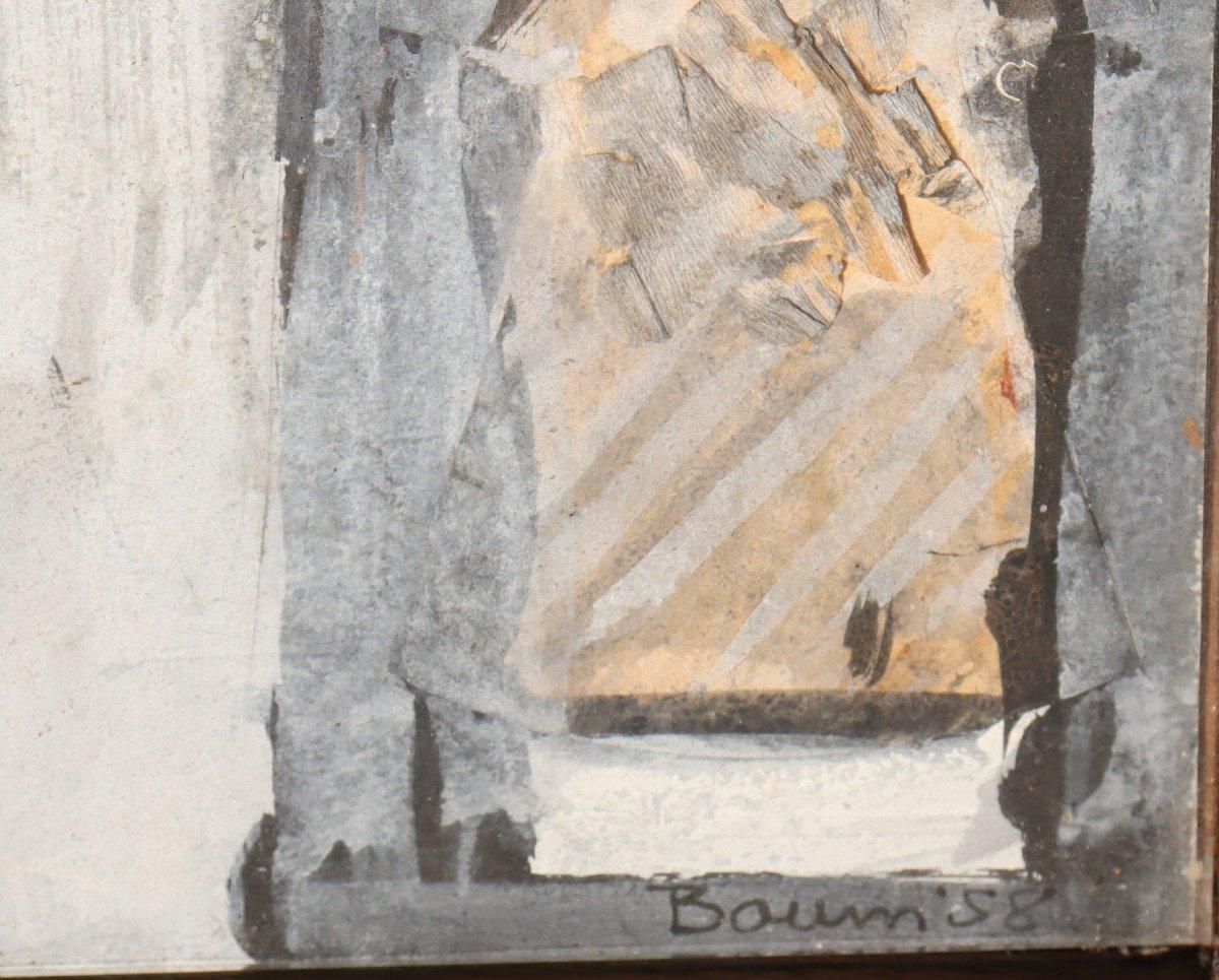 """DON BAUM : """"CAISSON/ASSEMBLAGE SURREALISTE A LA MOMIE""""-photo-1"""