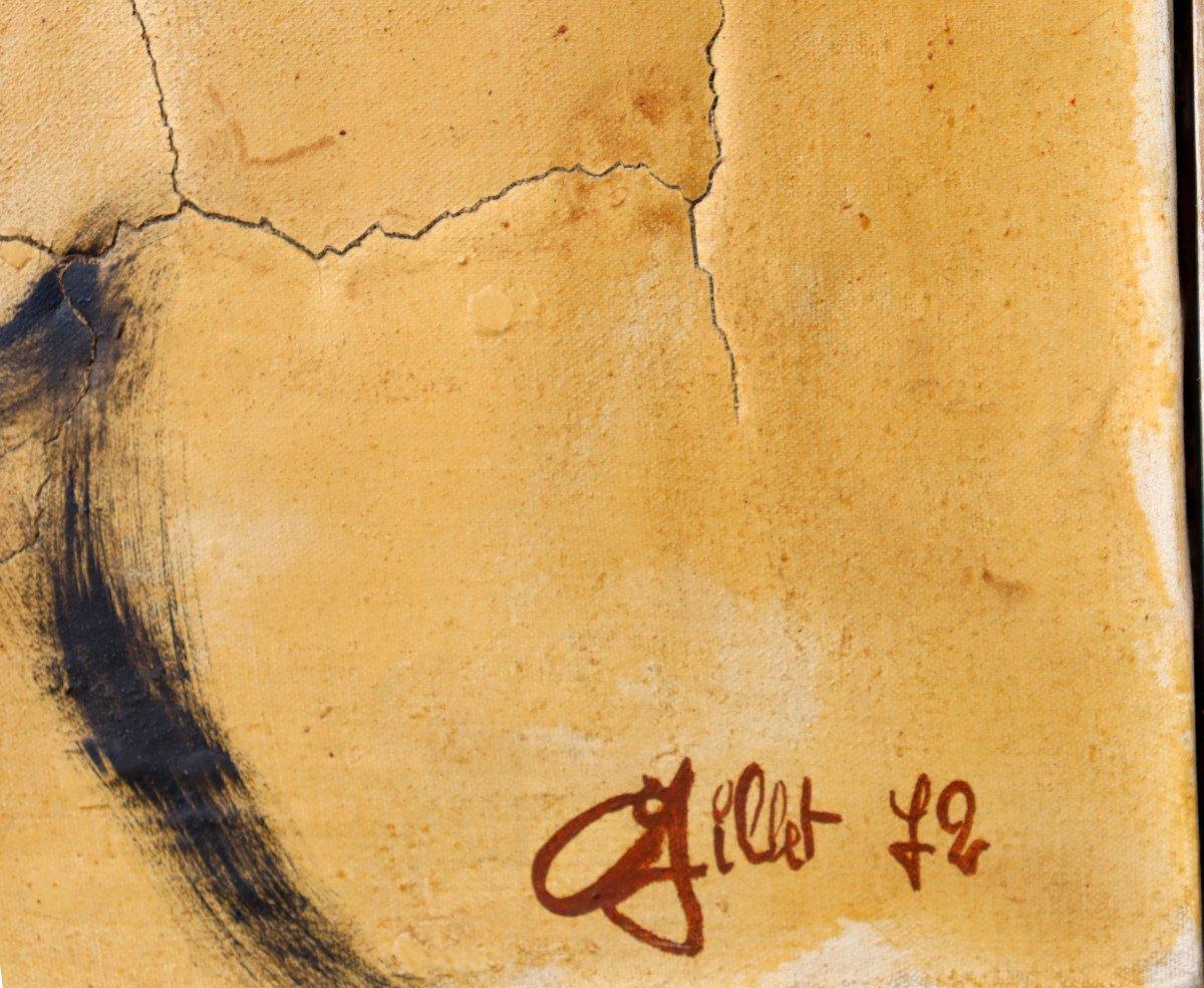 """GILLET (XXe) : """"ABSTRACTION 1972""""-photo-3"""