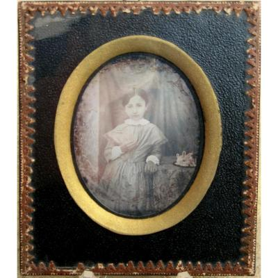 "Charming Daguereotype : ""little Girl"""