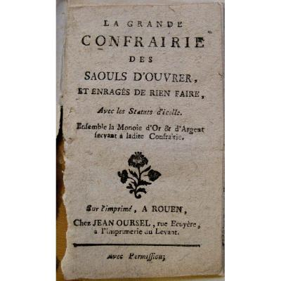 Eloge Of The Parasse : La Grande Confrairie