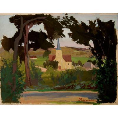 """Gustave Patriarche : """"around Trouville"""""""