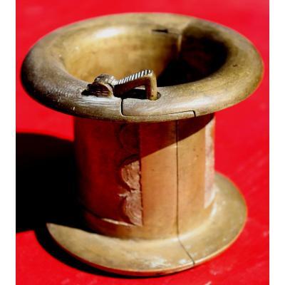 """""""african Bracelet Opening In Bronze"""""""