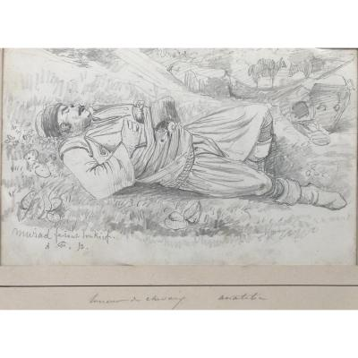 "ACHILLE FOUQUIER (1817-1895 ?) 10 : ""MURAHD"""