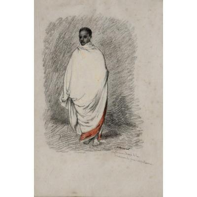 "Achille Fouquier (1817-1895?) 18: ""abyssinian Drape In The Most Respectful Way"""