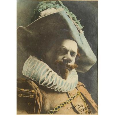 """Leopold Poire : """"coquelin Aine In The Role Of Cyrano De Bergerac"""" 1898"""