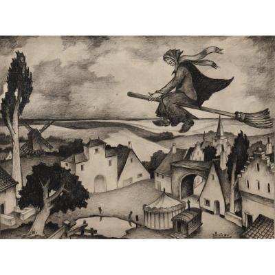 """Raymond Dierickx : """"the Witch"""""""