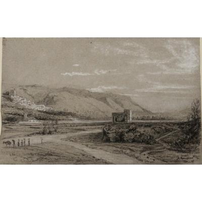 """Achille Fouquier 26 : """"mediterranean Landscape"""""""
