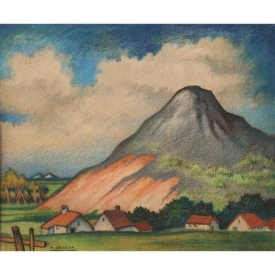 """Raymond Dierickx : """"the Village At The Foot Of The Hill"""""""