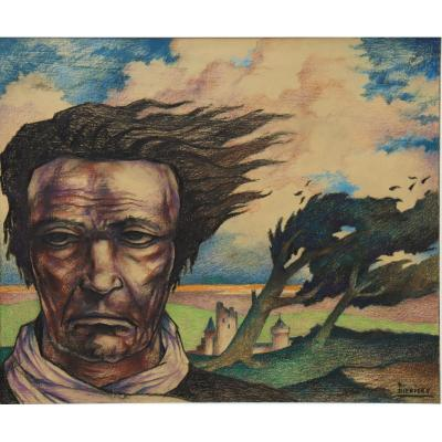 "Raymond Dierickx : ""hair In The Wind"""