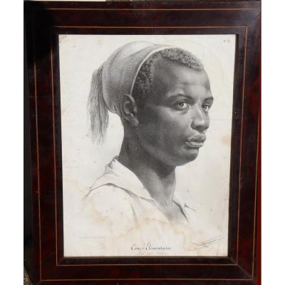 """Julien: Lithography """"young Man With A Bonnet"""""""