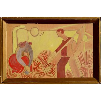 "Marcel Burtin : ""the Harvesters / The Sailors"""