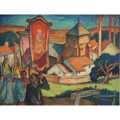 "Raymond Dierickx : ""the Start Of The Procession"""