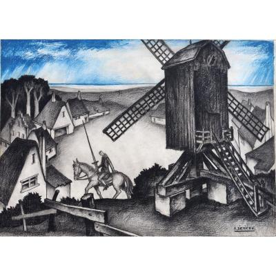 "Raymond Dierickx: ""don Quixote To The Blue Sky"""