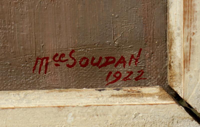 "MAURICE SOUDAN : ""LA BAIE DE COLLIOURE 1922""-photo-4"