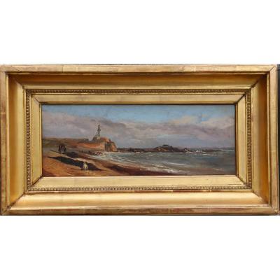 "French School Circa 1860/70 : ""marine A La Fortification"""