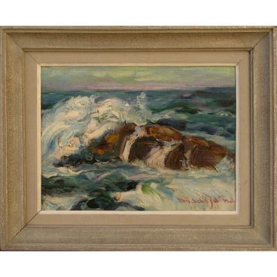 "MaddgaÏna : ""portrait Of Ocean Ii"""