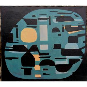 """Ermanno Besozzi : """"abstraction 1958"""""""