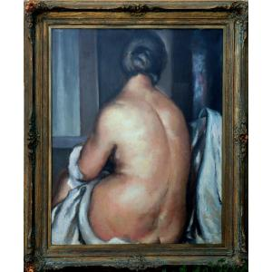 """Gustave Astoy : """"back Nude"""""""