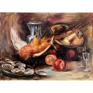 """P. Mikael : """"still Life With The Pheasant"""""""