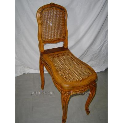 Chaise Bidet XVIII éme en hêtre