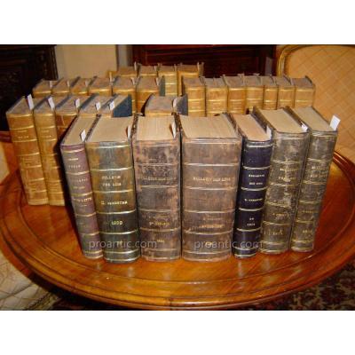 Livres : Bulletin Des Lois De L'empire FranÇais 1869 -1872 - 1879 - 1884 - 1889  1890