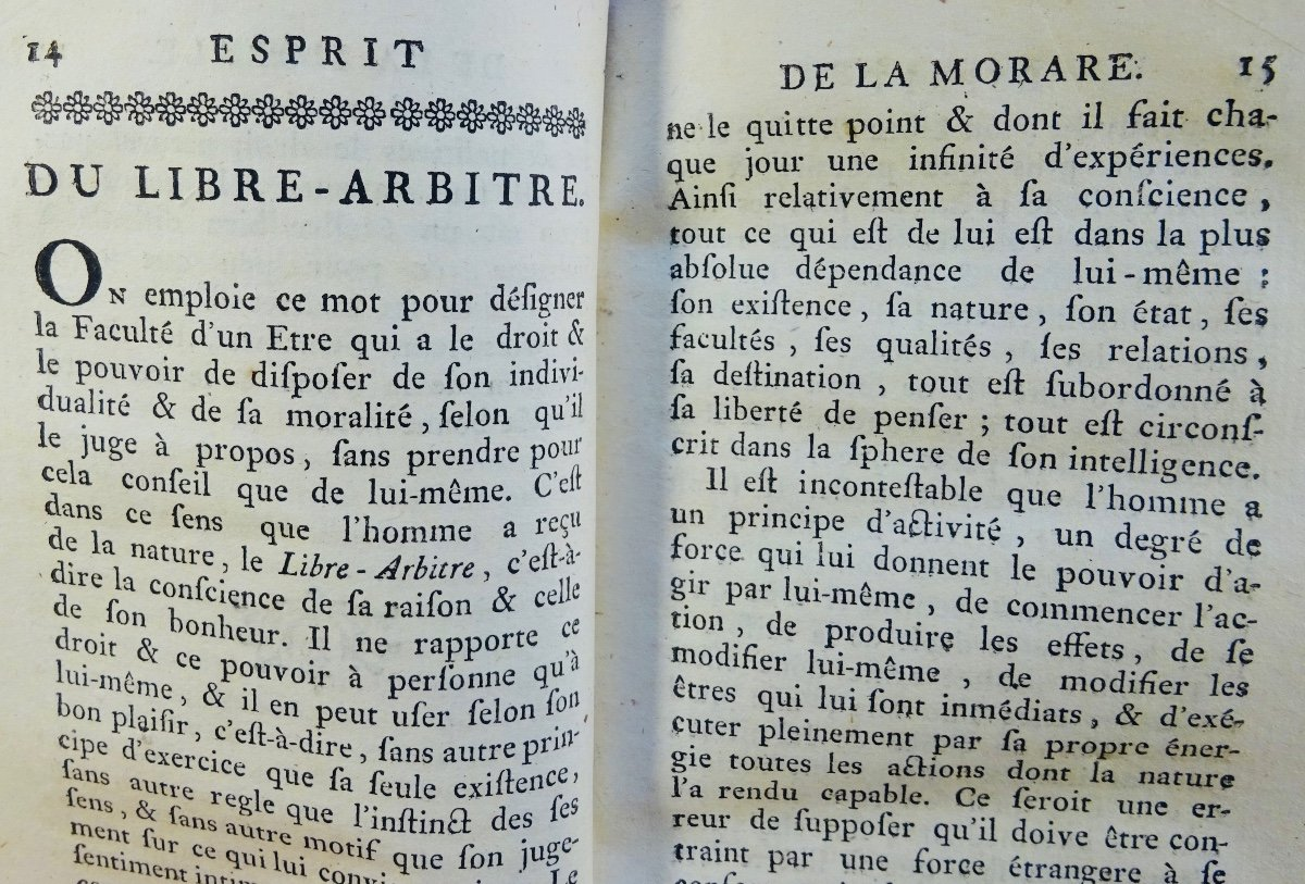 Philosophy Book Of A French Revolutionary, First Edition-photo-4