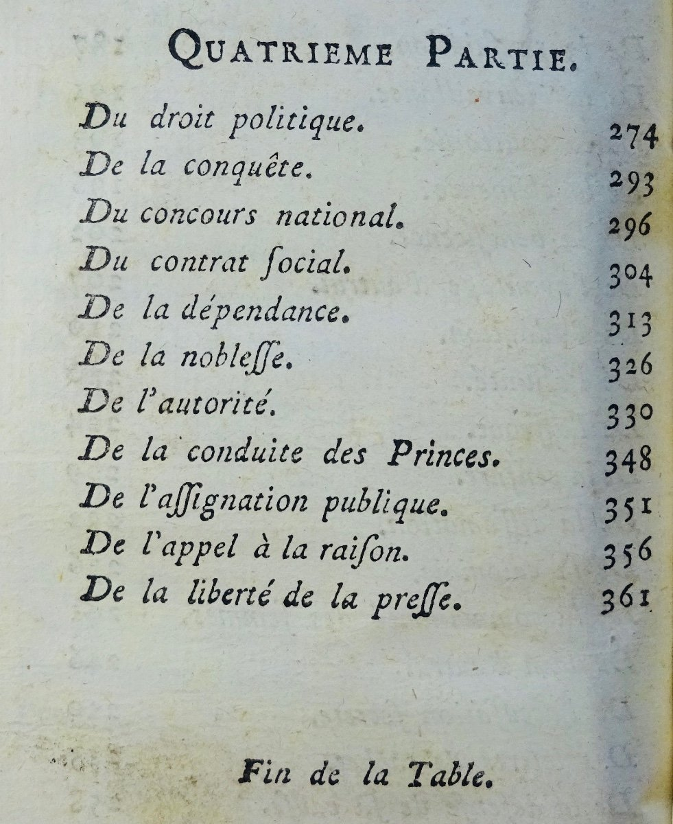 Philosophy Book Of A French Revolutionary, First Edition-photo-5