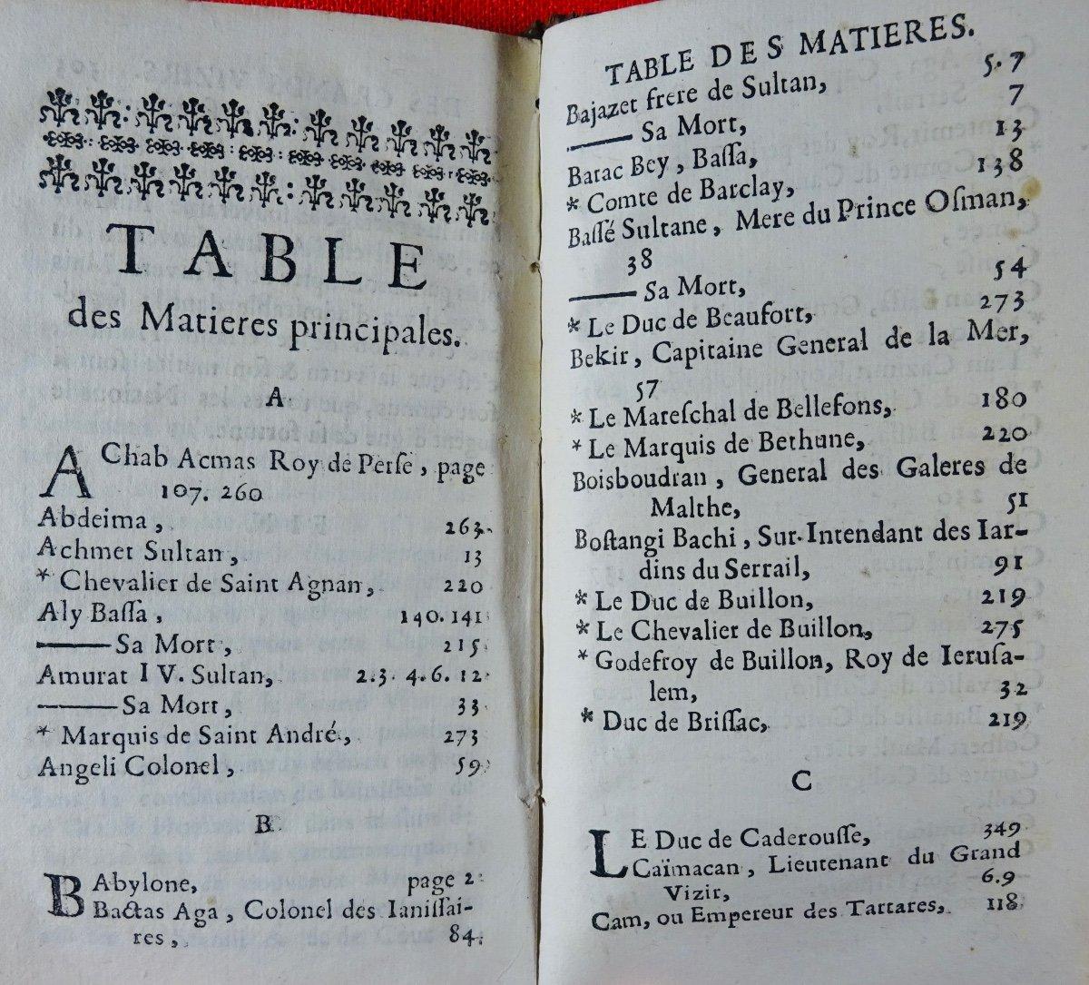 [chassepol] - Histoire Des Grands Vizirs Mahomet Coprogli-pacha, Et Ahcmet Coprogli-pacha. 1676-photo-4