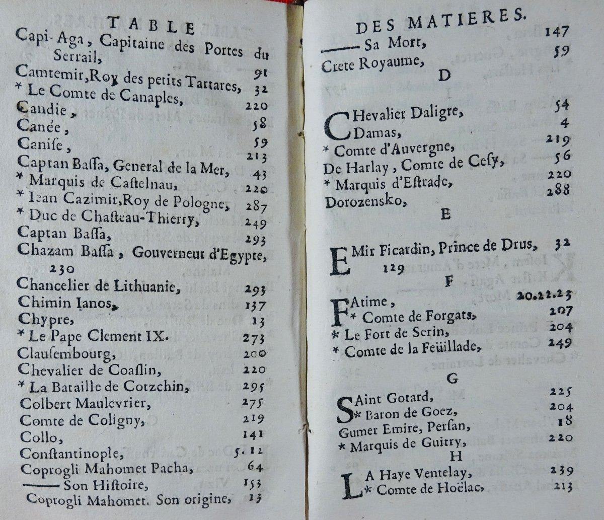 [chassepol] - Histoire Des Grands Vizirs Mahomet Coprogli-pacha, Et Ahcmet Coprogli-pacha. 1676-photo-5