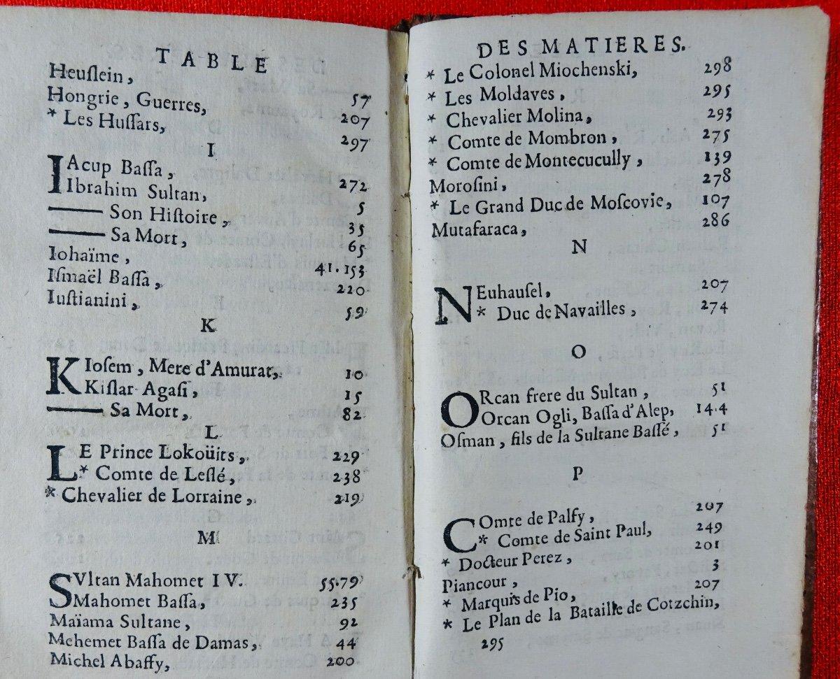 [chassepol] - Histoire Des Grands Vizirs Mahomet Coprogli-pacha, Et Ahcmet Coprogli-pacha. 1676-photo-6