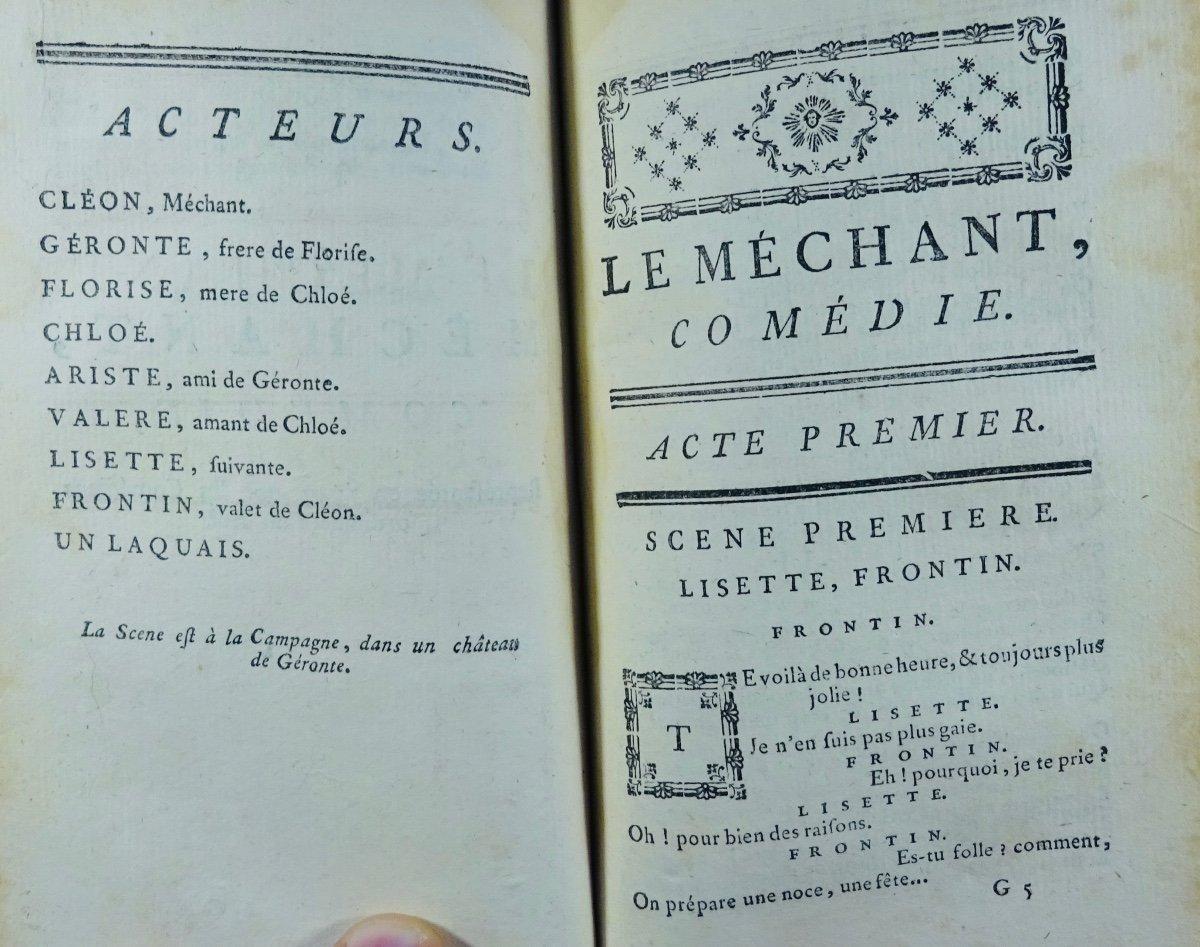 Gresset - Oeuvres. Londres, Edouard Kermaleck, 1772.-photo-3