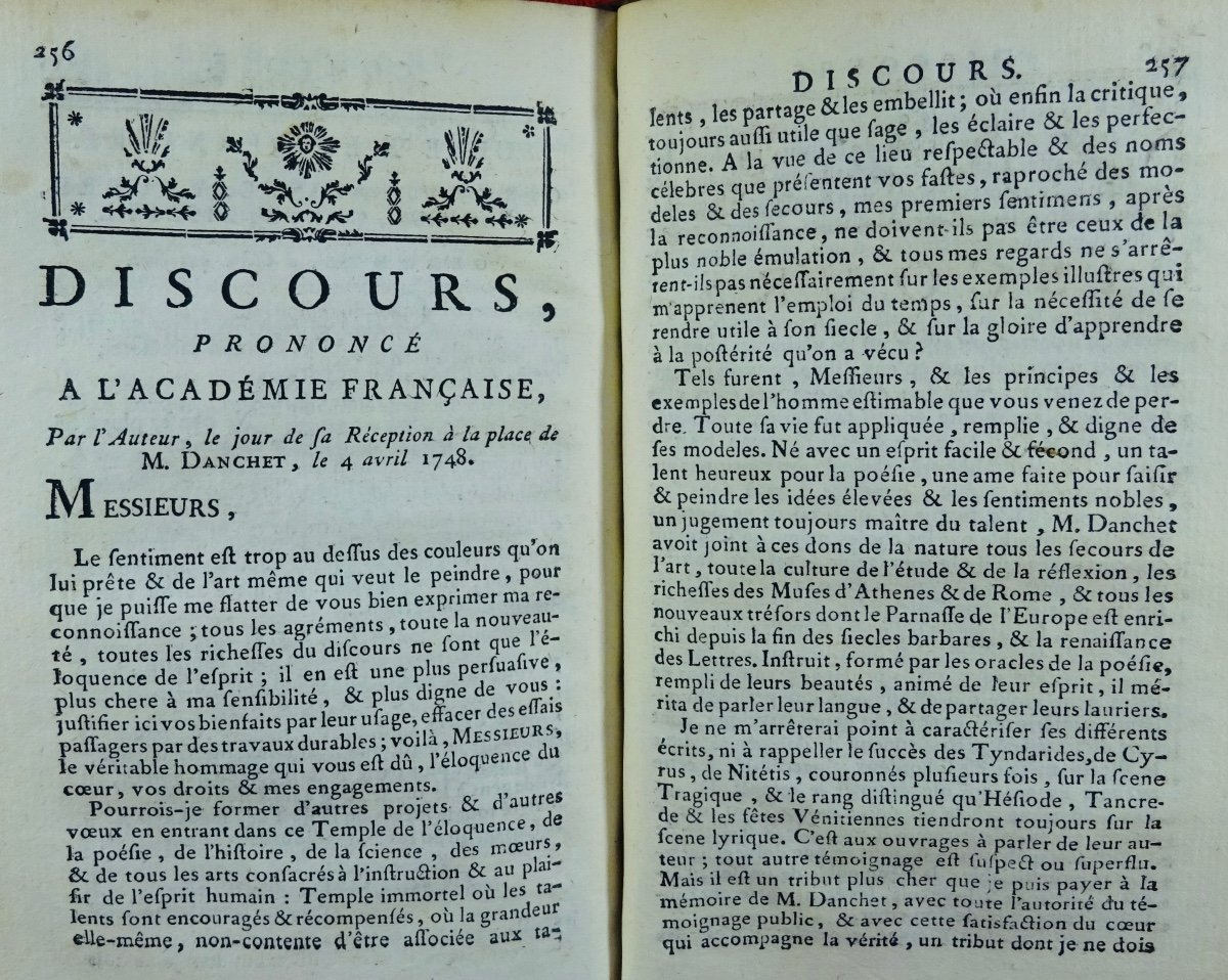 Gresset - Oeuvres. Londres, Edouard Kermaleck, 1772.-photo-4