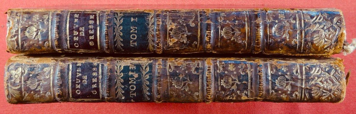 Gresset - Oeuvres. Londres, Edouard Kermaleck, 1772.-photo-7