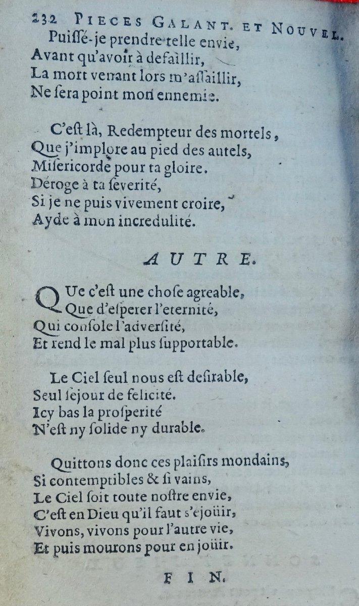 Recueil De Quelques Pièces Nouvelles Et Galantes. Chez Pierre Marteau, 1667.-photo-4