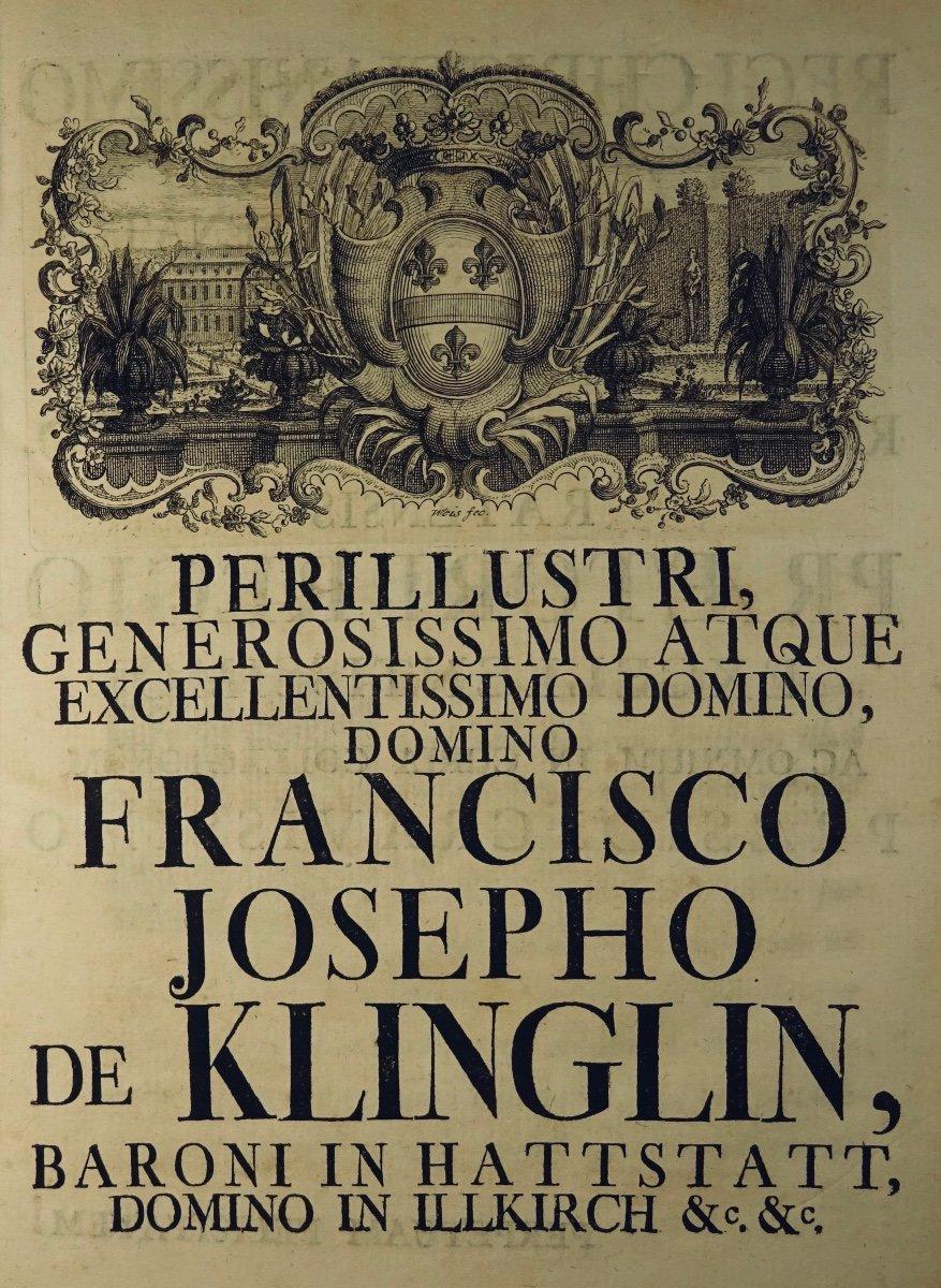 Livre En Latin De 1742. Rare Ouvrage En Latin Recensant Les Plantes d'Alsace. 7 Planches.-photo-3