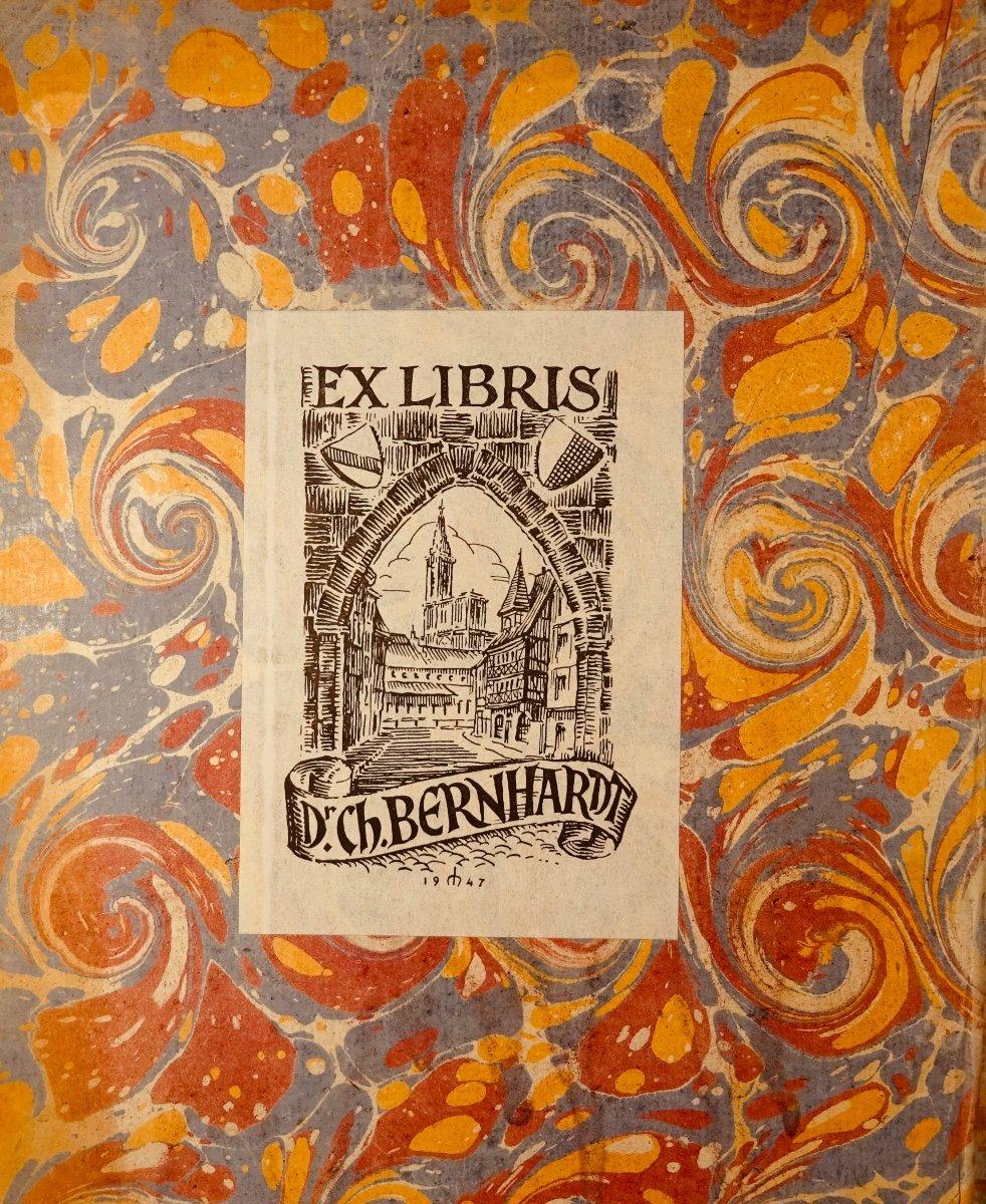 Livre En Latin De 1742. Rare Ouvrage En Latin Recensant Les Plantes d'Alsace. 7 Planches.-photo-4
