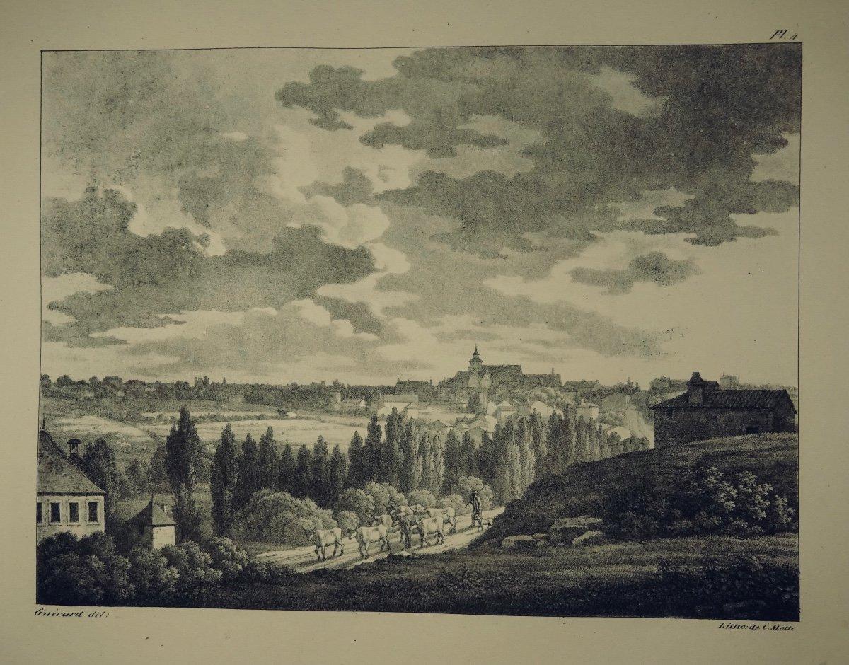 MÉliand - Vues Pittoresques  De La Vendée. 36 Lithographies. Reliure Signée Bonnemort.-photo-1