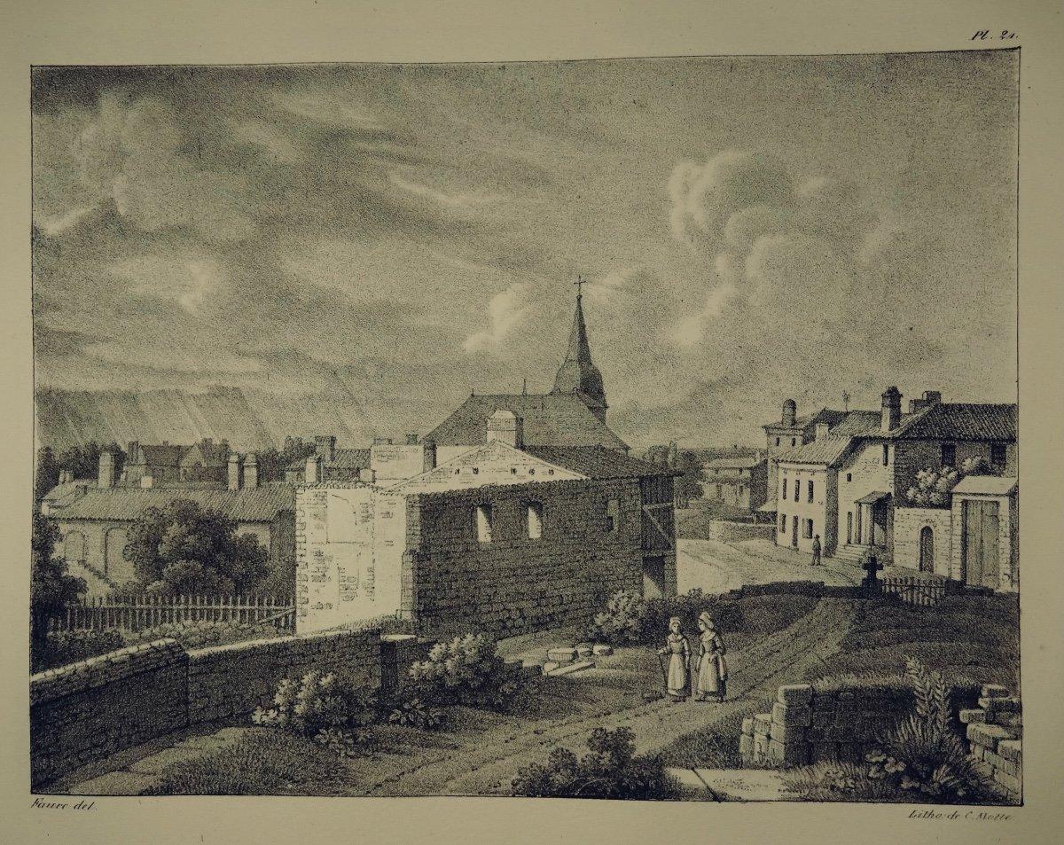 MÉliand - Vues Pittoresques  De La Vendée. 36 Lithographies. Reliure Signée Bonnemort.-photo-6