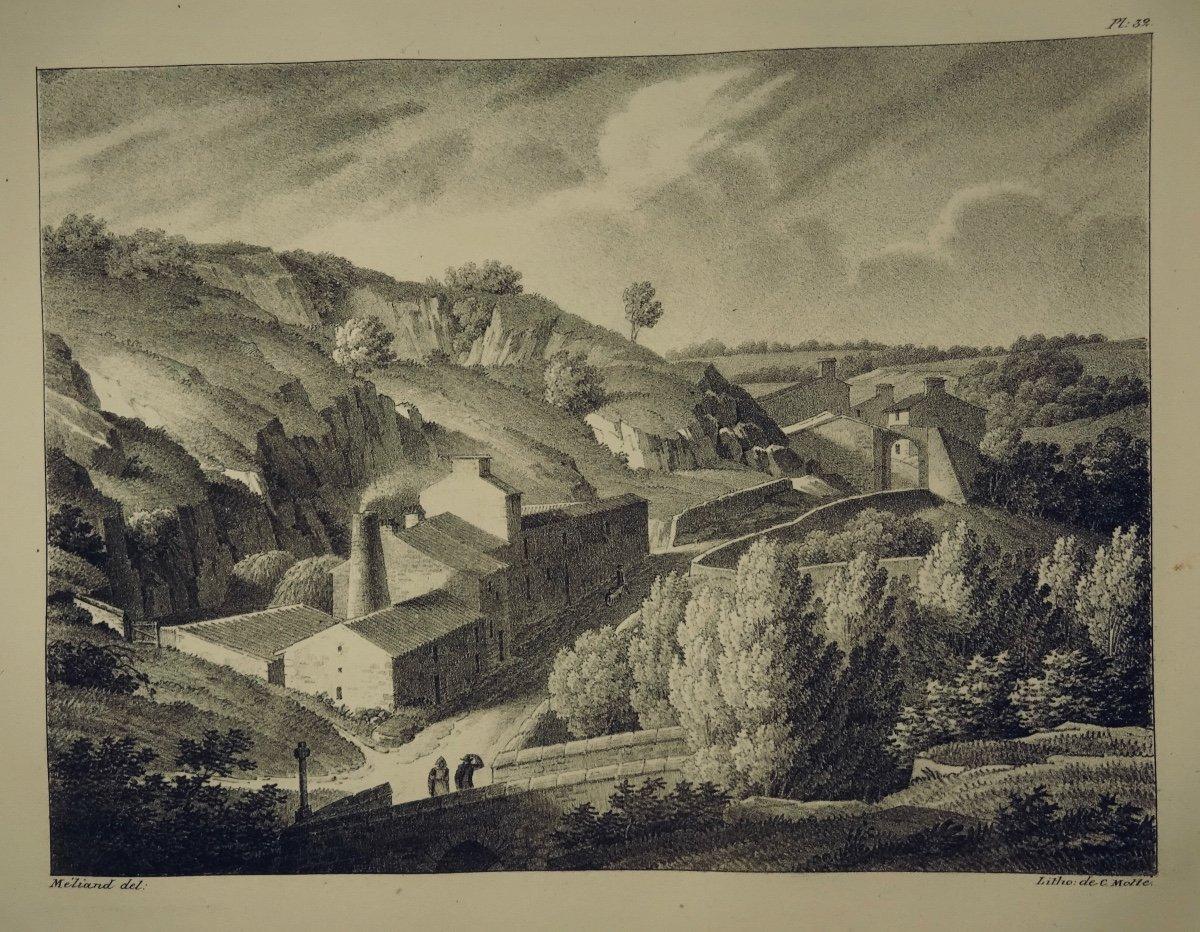 MÉliand - Vues Pittoresques  De La Vendée. 36 Lithographies. Reliure Signée Bonnemort.-photo-8