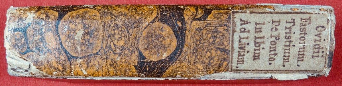 Ovide - Oeuvres En Latin Imprimées à Anvers Par Plantin En 1667.-photo-7