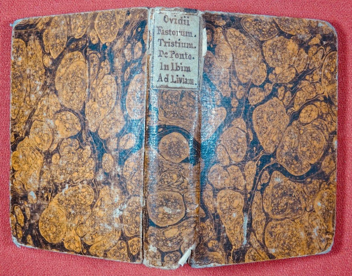 Ovide - Oeuvres En Latin Imprimées à Anvers Par Plantin En 1667.-photo-8