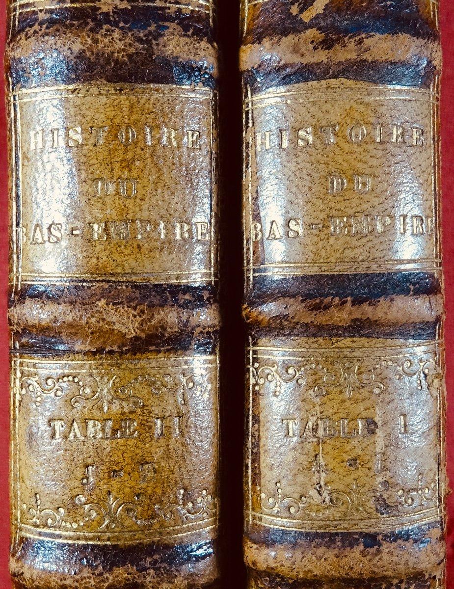 Ravier - Table Alphabétique De l'Histoire Du Bas-empire. 1817.-photo-7