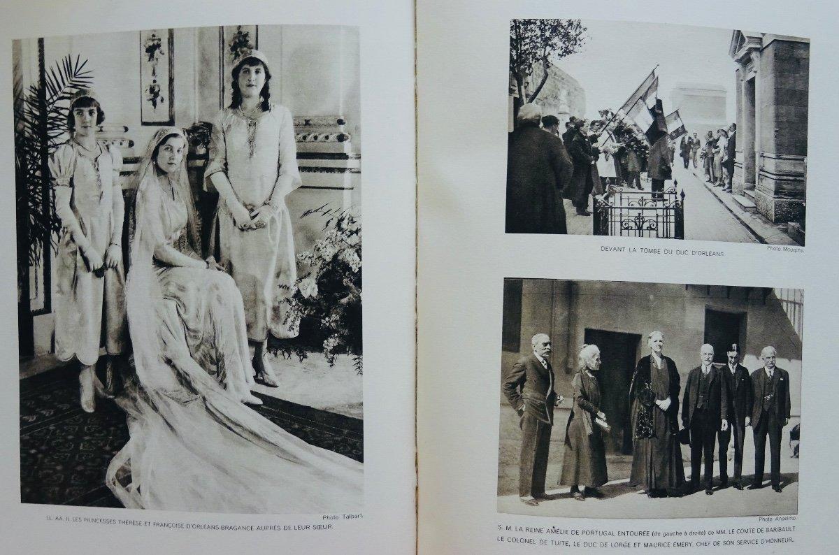 Mellet (alain) - Mariage De Son Altesse Royale Le Prince Henri De France Comte De Paris. 1931.-photo-3