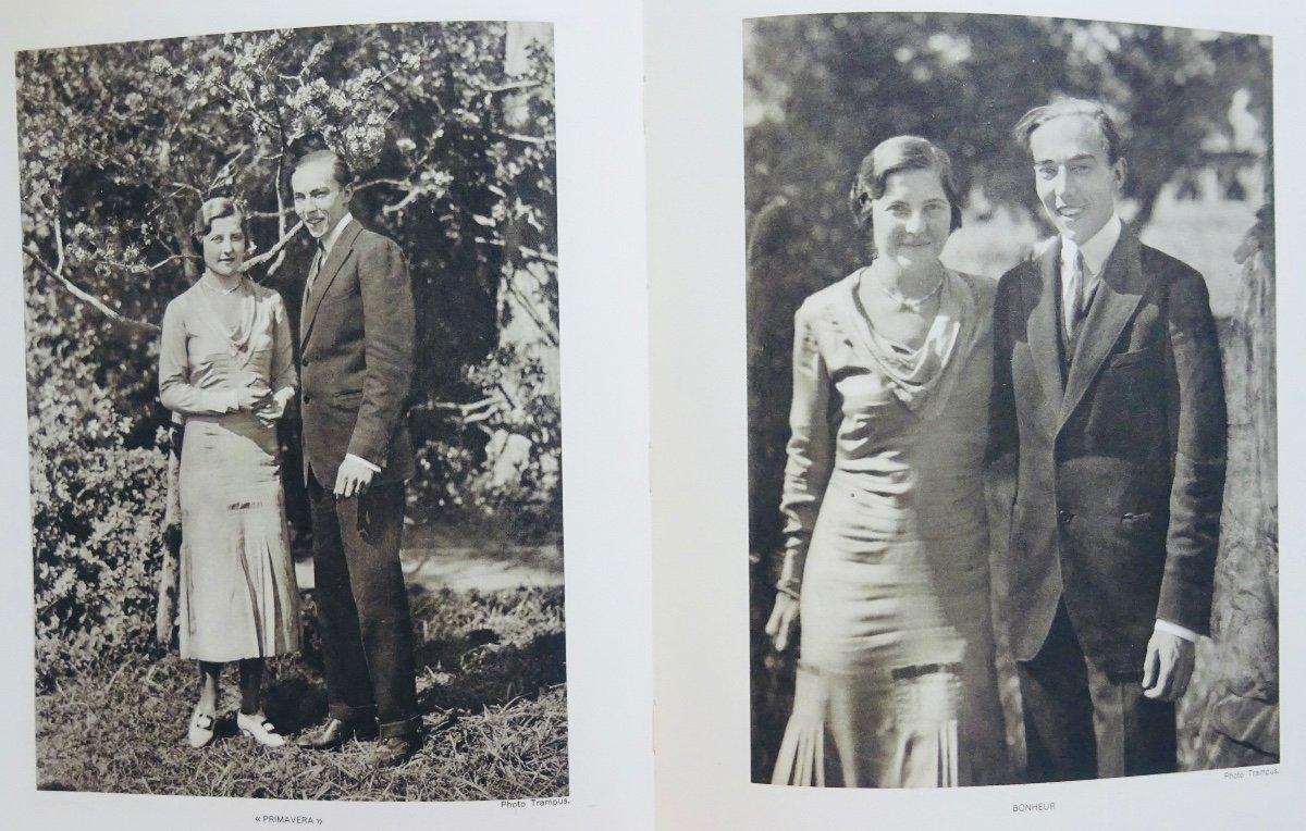 Mellet (alain) - Mariage De Son Altesse Royale Le Prince Henri De France Comte De Paris. 1931.-photo-5
