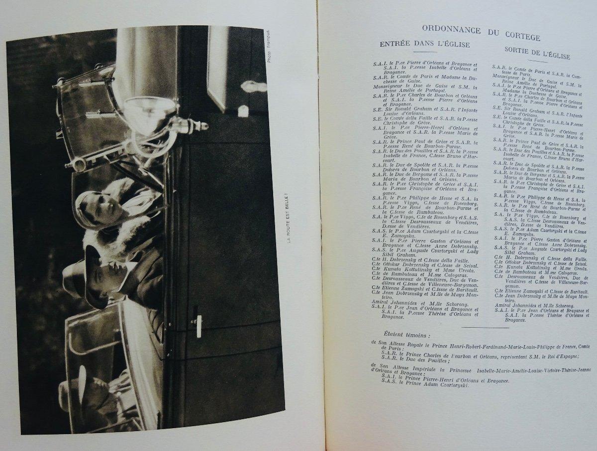Mellet (alain) - Mariage De Son Altesse Royale Le Prince Henri De France Comte De Paris. 1931.-photo-8